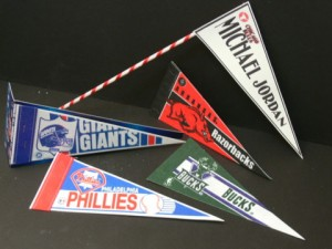Custom Sports Team Centerpiece Pennants