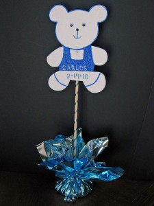 Baby Shower Baptism Centerpiece Cut Out Kit
