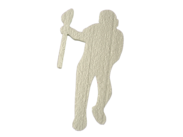 LaCrosse Player Cut Out