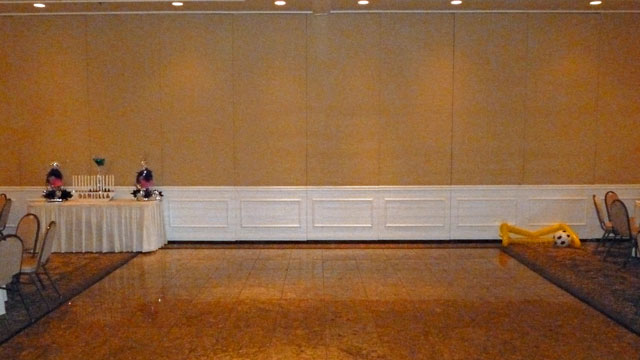 Mitzvah Event Celebrants Name Spelled Out In Letter