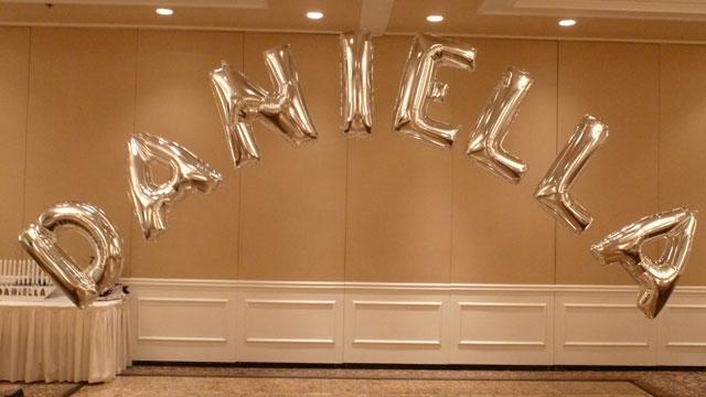 Balloon Name In Letters Progress II
