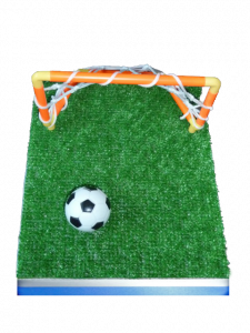 DIY Soccer Field Base Centerpiece Kit
