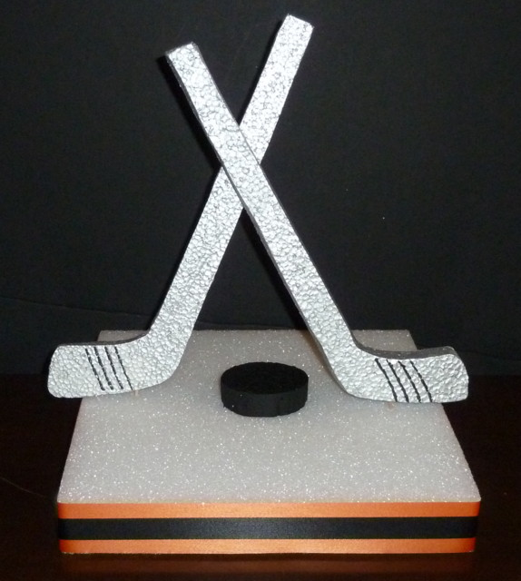 DIY Hockey Centerpiece Base Kit