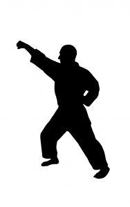 Karate Block Sports Theme Foam Cut Out Shape