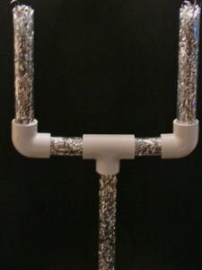 Fleible Plastic Tube Football Goal Posts