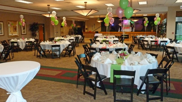 Table Decoration Ideas For Retirement Party retirement party decorations and favors Room Shot With Balloons The Glen