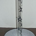 Flexible Plastic Tube With Transparent Star Paper