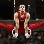 Gymnast Danell Leyva