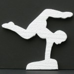 Custom Gymnast Cut Out
