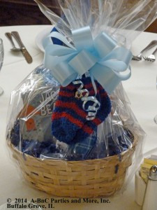 Baby Party Basket Centerpiece 01