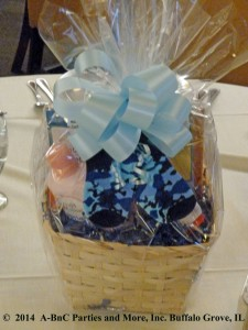 Baby Party Basket Centerpiece 05