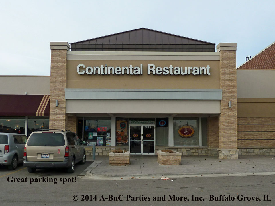 Baby Party at Continental Restaurant in Buffalo Grove