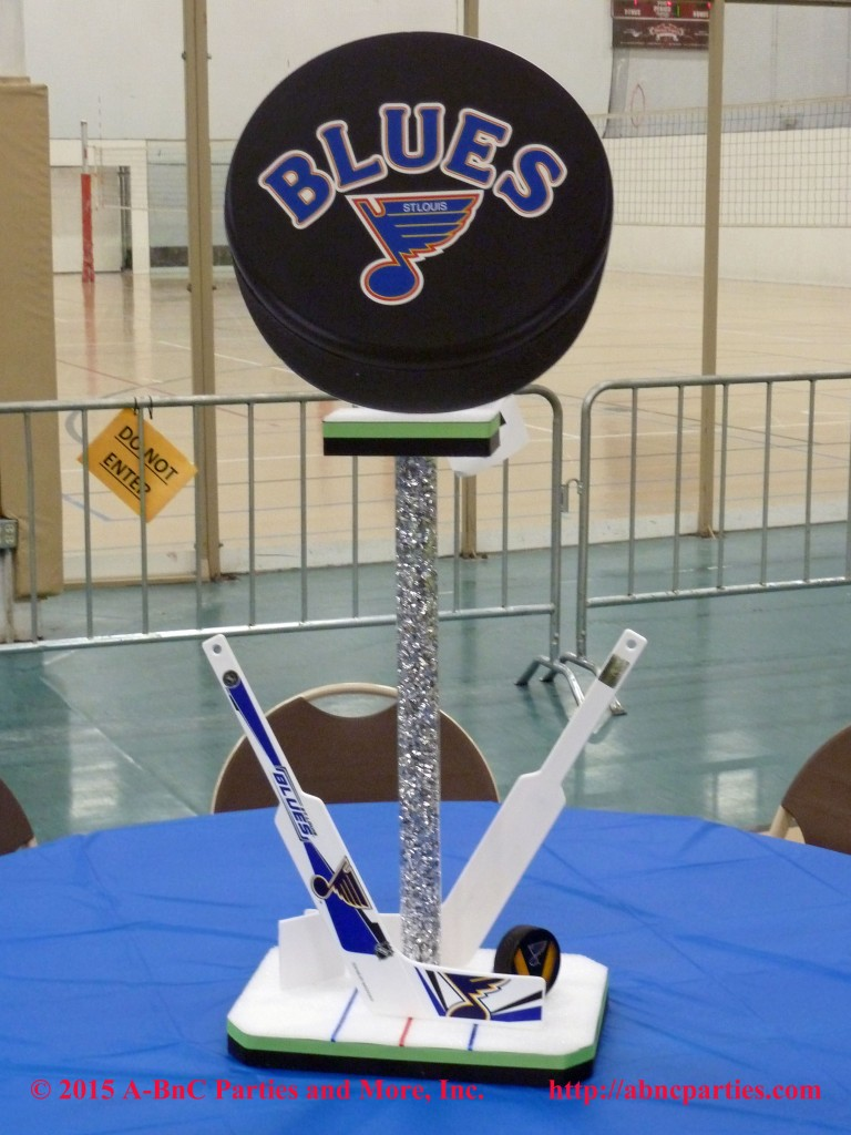 Bat Mitzvah Hockey Centerpiece 10