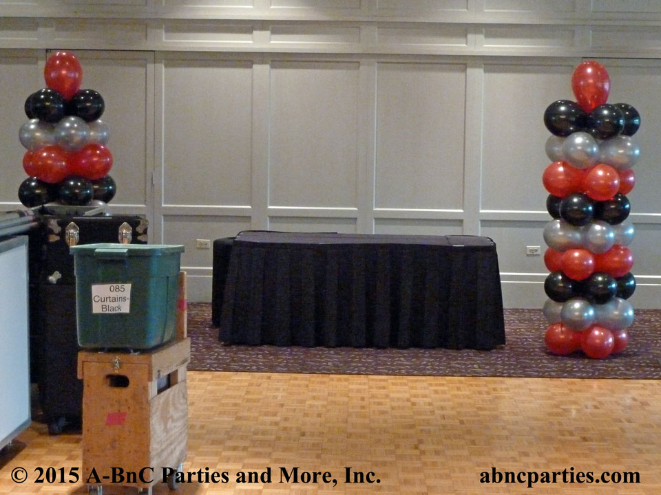 Bar Mitzvah Balloon Column Decoration 02