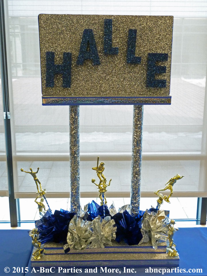 DIY Name Buffet Centerpiece - Halle