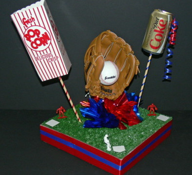 A-BnC DIY Baseball Centerpiece Kit 1