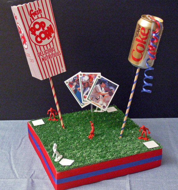 A-BnC DIY Baseball Centerpiece Kit 3