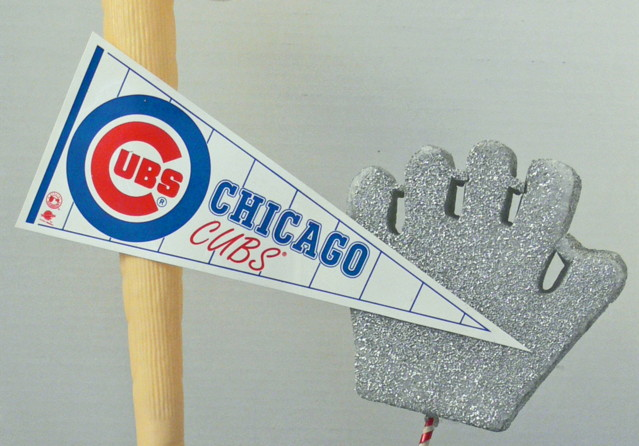 Baseball Mitt Cut Out - Baseball Pennant