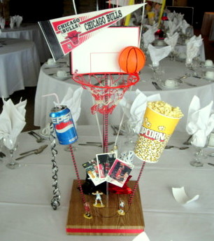 DIY Basketball Centerpiece Kit 2