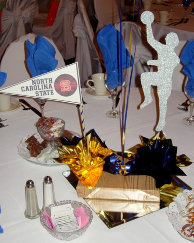 DIY Basketball Centerpiece Kit 4