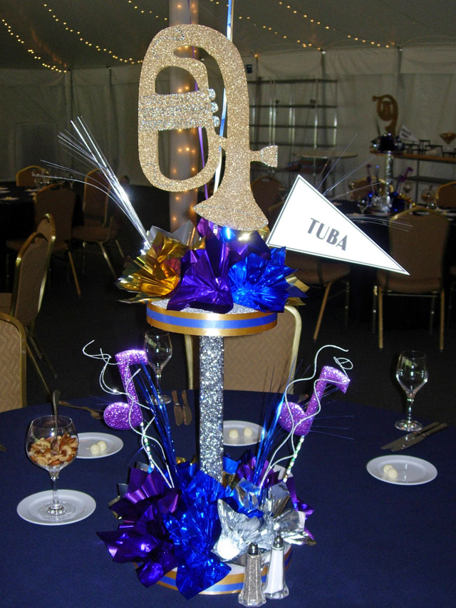Tuba Music Centerpiece Sample