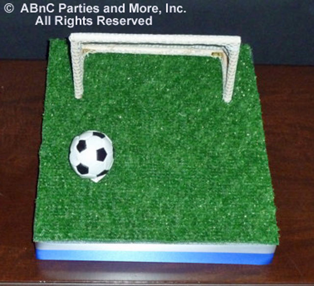 Diy soccer theme centerpiece kits and supplies cut outs