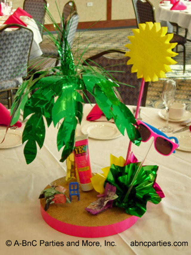 Beach Party Centerpiece