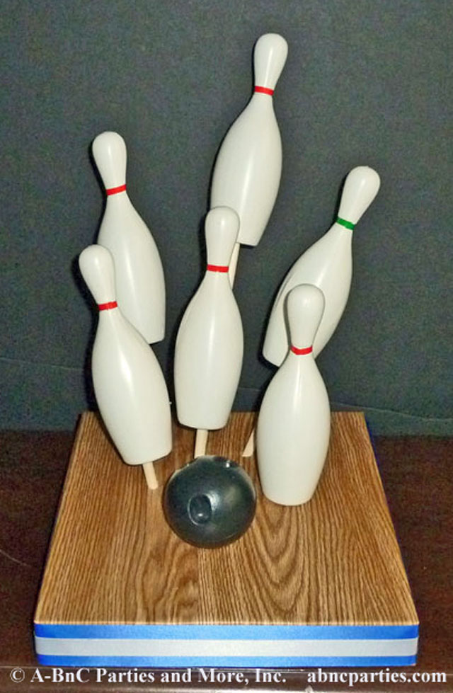 Bowling DIY Centerpiece Kit 01