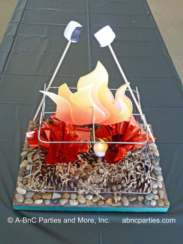 Camping Centerpiece