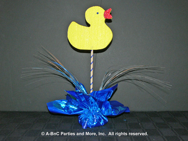 DIY Baby Centerpiece - Duck