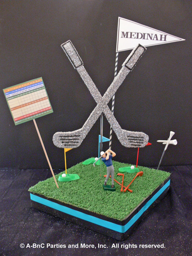 DIY Golf Centerpiece Expanded Kit