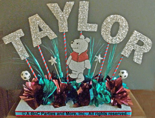 DIY Name Centerpiece Kit -Taylor