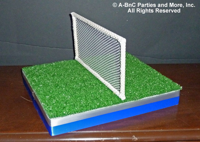Diy tennis theme centerpiece kits and supplies cut outs for Diy sport court