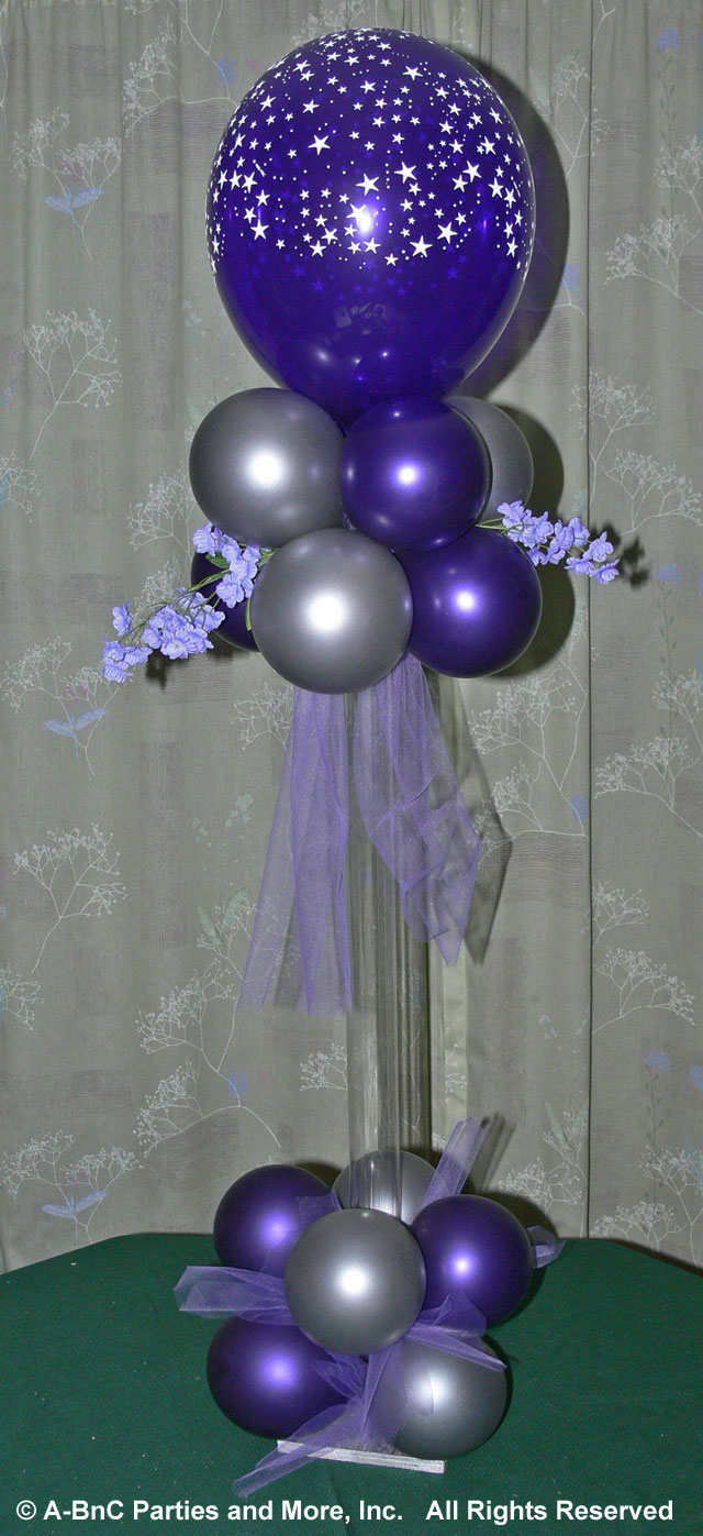 Diy tall cheap balloon wedding centerpiece kits and supplies tall balloon wedding centerpiece kit junglespirit Images