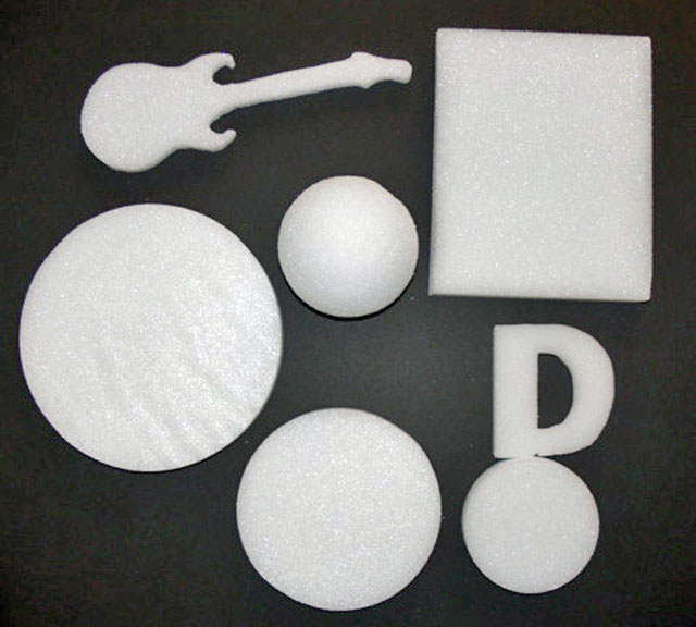 Various Shapes Styrofoam Cut Outs