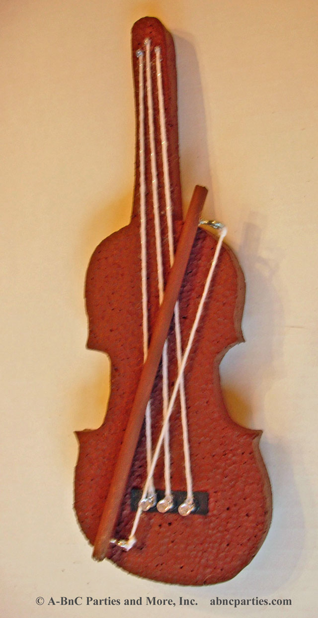 String Bass Cut Out