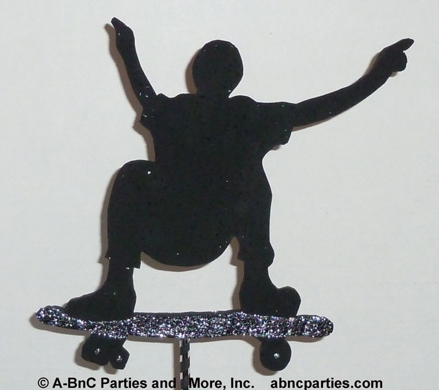 Skateboard Cut Out