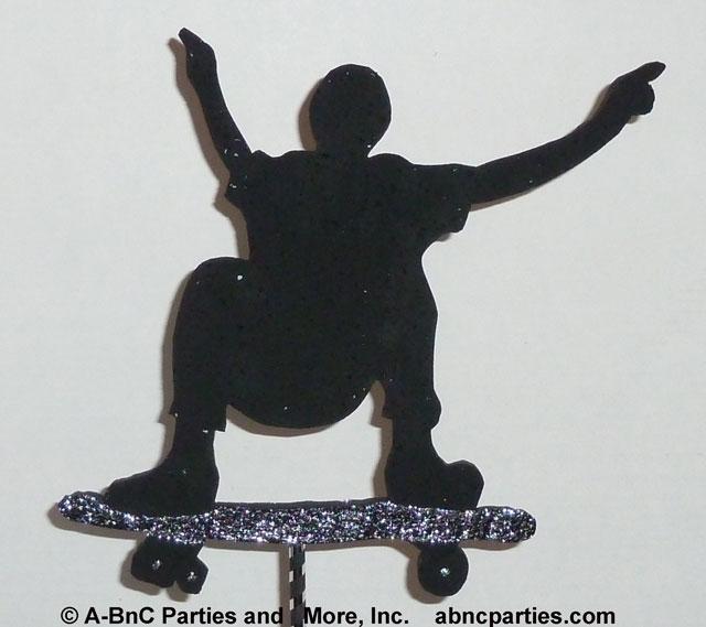 Skateboard Cut Out