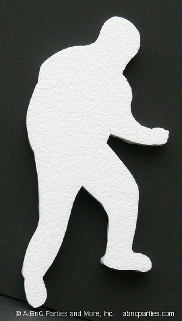 Wrestler Cut Out