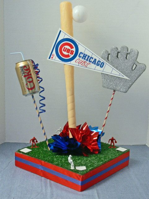 A-BnC DIY Baseball Centerpiece Kit 2