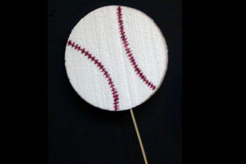 Baseball Cut Out