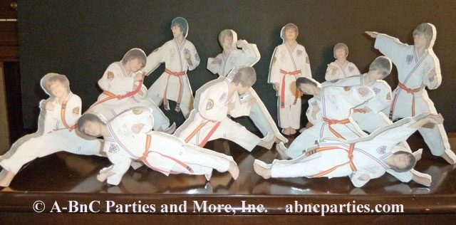 Martial Arts Laminated Photo Cut Out 02