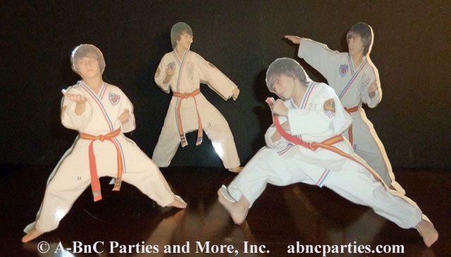 Martial Arts Laminated Photo Cut Outs 01