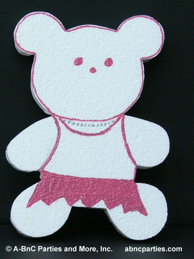 Teddy Bear -Girl Pink