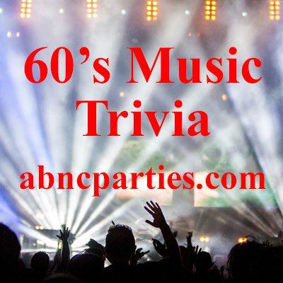 60's Movie Trivia for Seniors 60+