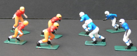 Small Football Players for your DIY Sports Theme Centerpiece
