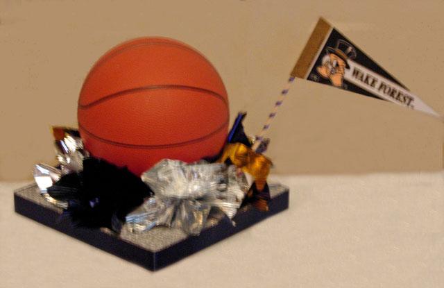 Basketball Sports Theme Bar Mitzvah Centerpiece