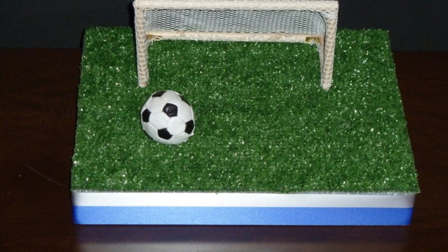 New Soccer Sports Centerpiece