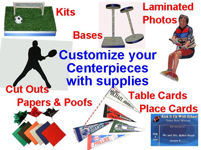 DIY Centerpiece Supplies from A-BnC Parties