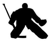 Hockey Goalie Foam Sports Theme Cut Out